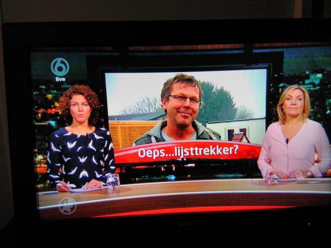 Ad als lijsttrekker bij Hart van Nederland