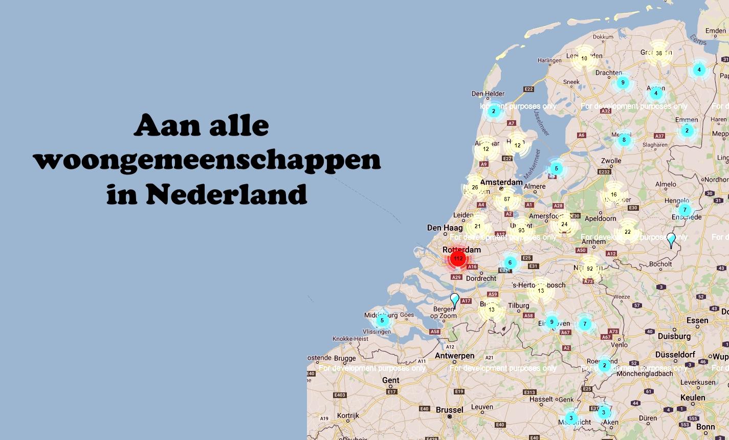 woongemeenschappen in Nederland