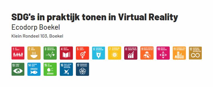 MBO-HBO-stageplaats: SDG's in de praktijk tonen in Virtual Reality