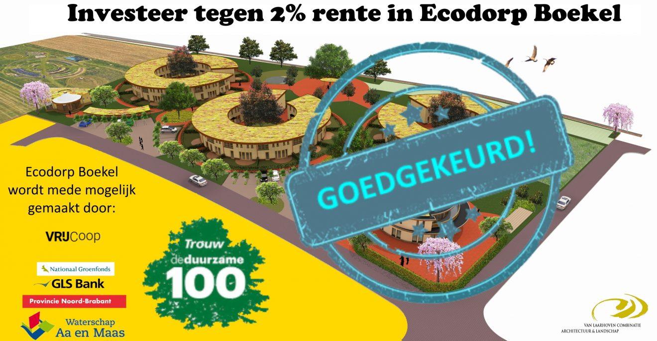 Bouwvergunning Ecodorp Boekel is onherroepelijk!