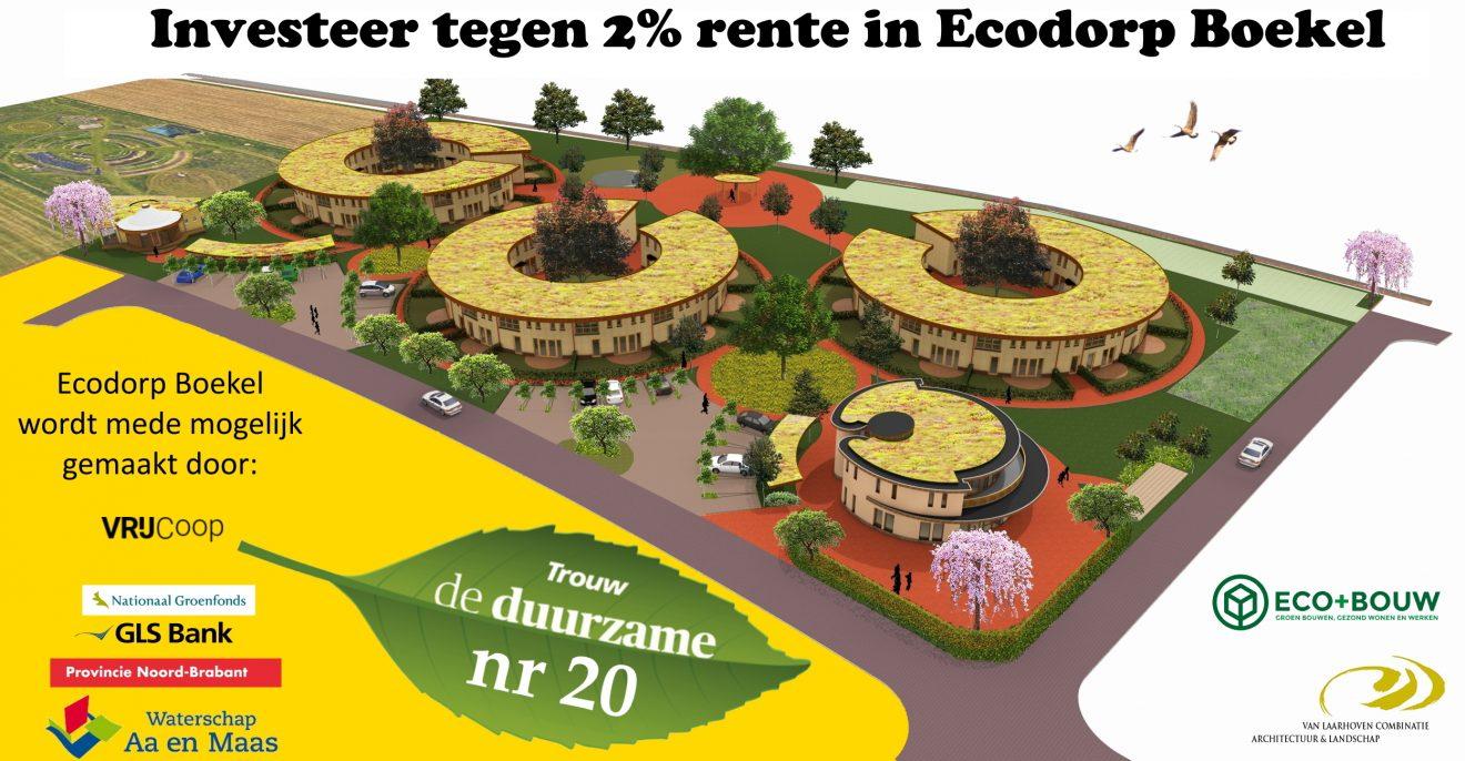 Nr 20 in de Trouw Duurzame Top 100: Ecodorp Boekel